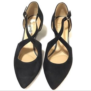 NWOT - Naturalizer Black Suede Heels